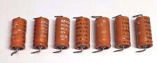 7x EPCOS Sikorel Siemens 680uF 40V 85C Axial Electrolytic Capacitors B41684
