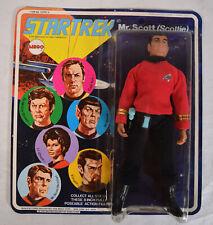 Star Trek Capt Mr. Scott Scottie Action Figure Mego 1974 MOC New
