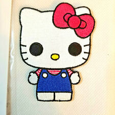 SANRIO/FUNKO HELLO KITTY * LIMITED EDITION * IRON-ON CLOTH PATCH * EMBROIDERED
