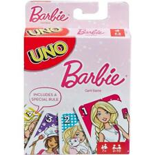 Mattel Barbie LIMITED EDITION Official Licensed Uno Card Game FREE SHIPPING RARE