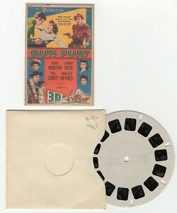 Gun Fury - Rock Hudson Donna Reed UNRELEASED View-Master Movie Preview Reel