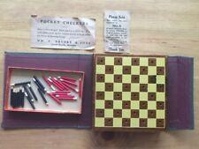 vintage pocket checkers wm. f. drueke & sons
