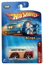 2005 Hot Wheels #038 Blings First Editions Block 'O Wood on '05 card