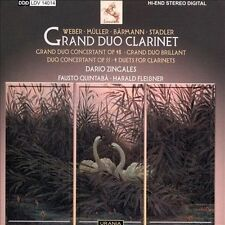 "GRAND DUO CLARINET: WEBER, MLLER, B""RMANN, STADLER NEW CD"