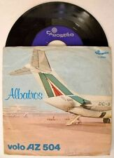 Albatros VOLO AZ 504   disco singolo 45 GIRI VINILE
