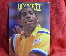 NBA Beckett Magazine Los Angeles Lakers Magic Johnson August 1991