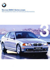 2000 BMW 323Ci 328ci Coupe 44-page Grade-B Car Sales Brochure Catalog