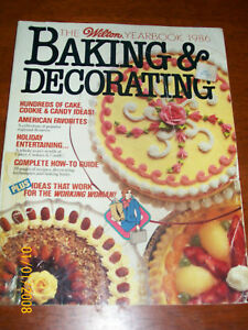 WILTON 1986 BAKING AND DECORATING YEAR BOOK