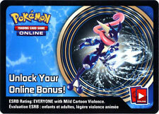 Pokemon Greninja Tin Promo Code Card for Pokemon TCG Online