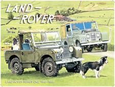 Land Rover Série 1 Mouton Chien Agriculture Hors Route 4x4 Ancienne Voiture,