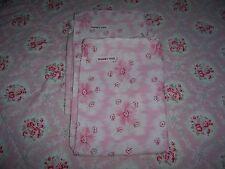 Rachel Ashwell Shabby Chic Couture Pink Daisy Ripple 100%Cotton Standard Shams