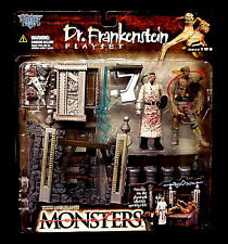 McFarlane Toys Monsters Series 2 Dr Frankinstein Playset Action Figures New 1998