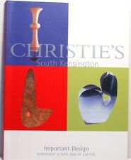 2000 Christies IMPORTANT DESIGN Furniture Glass Eames Mollino Sottsass Perriand