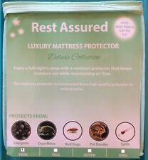 TWIN Mattress Protector / Pad Deluxe Soft Smooth Waterproof Hypoallergenic Cover