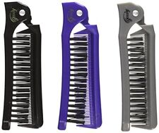 NEW Goody G Folding Brush & Comb 1 Ea Pack Of 3 FREE SHIPPING
