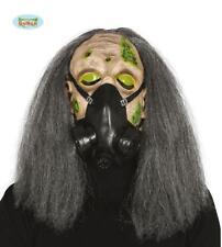 Maschera Lattice c/Capelli Zombie  Horror Travestimento Halloween Adulto Bambino