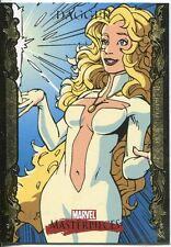 Marvel Masterpieces 2007 UD Gold Border Parallel Base Card #21 Dagger