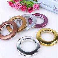 2~40pcs Round Shape Plastic Ring For Eyelet Curtain Blinds Circle Slide Rings
