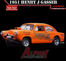 "SUNSTAR SS-5106 1:18 1951 HENRY J KAISER GASSER  ""MISSING LINK "" NHRA"