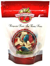 SweetGourmet Vidal Jelly Filled Whales Gummi, 1LB FREE SHIPPING!