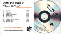 GOLDFRAPP Seventh Tree UK 10-trk watermarked promo test CD