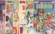 Dominion (1989) #1 2 3 4 5 6 1-6 Set Vf/Nm Eclipse International Comics