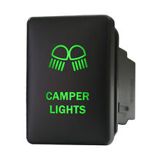 Push switch 9B80G 12V Toyota OEM CAMPER LIGHTS LED green Highlander RAV4 4Runner