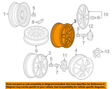 GM OEM-Wheel-Alloy Aluminum 22978079