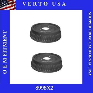 Rear Brake Drums For Chevrolet C1500 Suburban  1992 1993 1994 1995 1996 to 1999