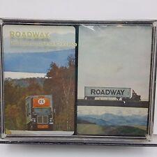 Roadway Trucking Playing Cards 2 decks Hoyle USA