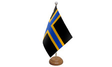 Caithness Small Table Flag with Wooden Stand