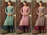 Sharara Salwar Kameez Indian Pakistani Suit Designer Dress New Shalwar Kameez RD