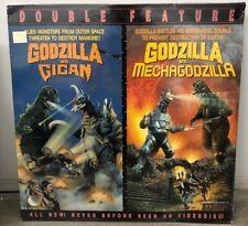 GODZILLA VS. GIGAN (1972) /GODZILLA VS. MECHAGODZILLA 2 (1974) Laserdisc