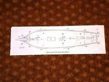 Pianta Geometrica di una Nave a tre alberi