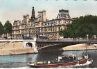 CPSM PARIS L' HOTEL DE VILLE ET LE PONT D' ARCOLE