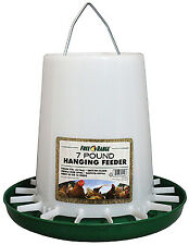 Hanging Poultry Feeder, 7-Lb. Capacity
