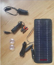 12V Portable 4.5W Solar Panel Battery Phone Charger for Boat Car Motorcycle RV