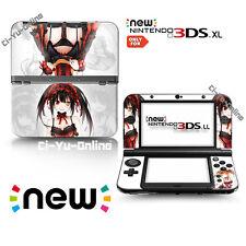 [new 3DS XL] Date A Live #2 Kurumi Tokisaki  VINYL SKIN STICKER DECAL COVER