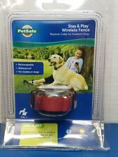 PetSafe Stubborn Dog Stay+Play Wireless Fence Rechargeable Collar Pif00-13672