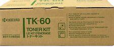 New Genuine OEM Kyocera Mita TK-60 TK-50 Black Toner Cartridge; FS1800 FS3800