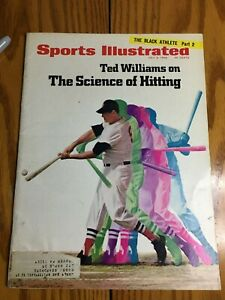 FM4-70 Sports Illustrated Magazine 7-8-1968 TED WILLIAMS RED SOX HITTING