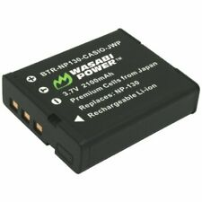 Wasabi Power Battery for Casio NP-130, NP-130A