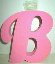 Barbie B foam logo pink wall hanging decor decoration arts crafts ornament Ooak