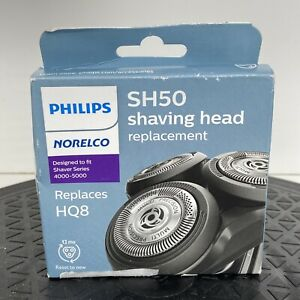 Philips Norelco Replacement Heads SH50/HQ8 New 4000-5000 series Men Shaving
