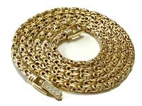 Vintage Quality GIVENCHY? Gold Tone Byzantine Long Chain Necklace