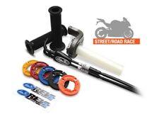 Corsa corta Comando gas REV2 Racing Honda CBR1000 08-13 Pantaloncini