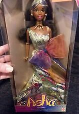 1995 Mattel Asha African-American Barbie Third Edition Collection NEW NRFB 15139