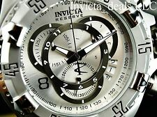 Invicta 52mm Reserve Excursion TOURING EDITION Swiss Chrono Silver Dial SS Watch