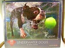 1000 Piece Jigsaw Puzzle - Underwater Dogs, Boston Terrier, Unopened Box