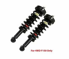2 Front Complete Struts With Springs Fit 4WD F150 with Limited Lifetime Warranty